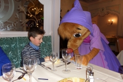 Princess dinner Disneyland Paris