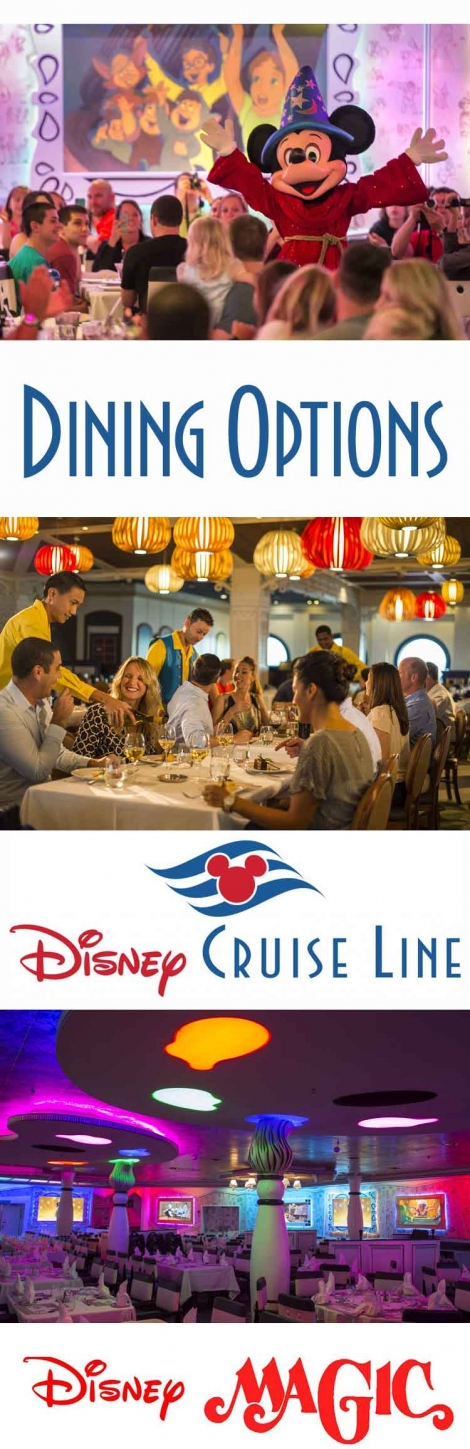 Dining-restaurant-options-for-a-Cruise-on-the-Disney-Magic