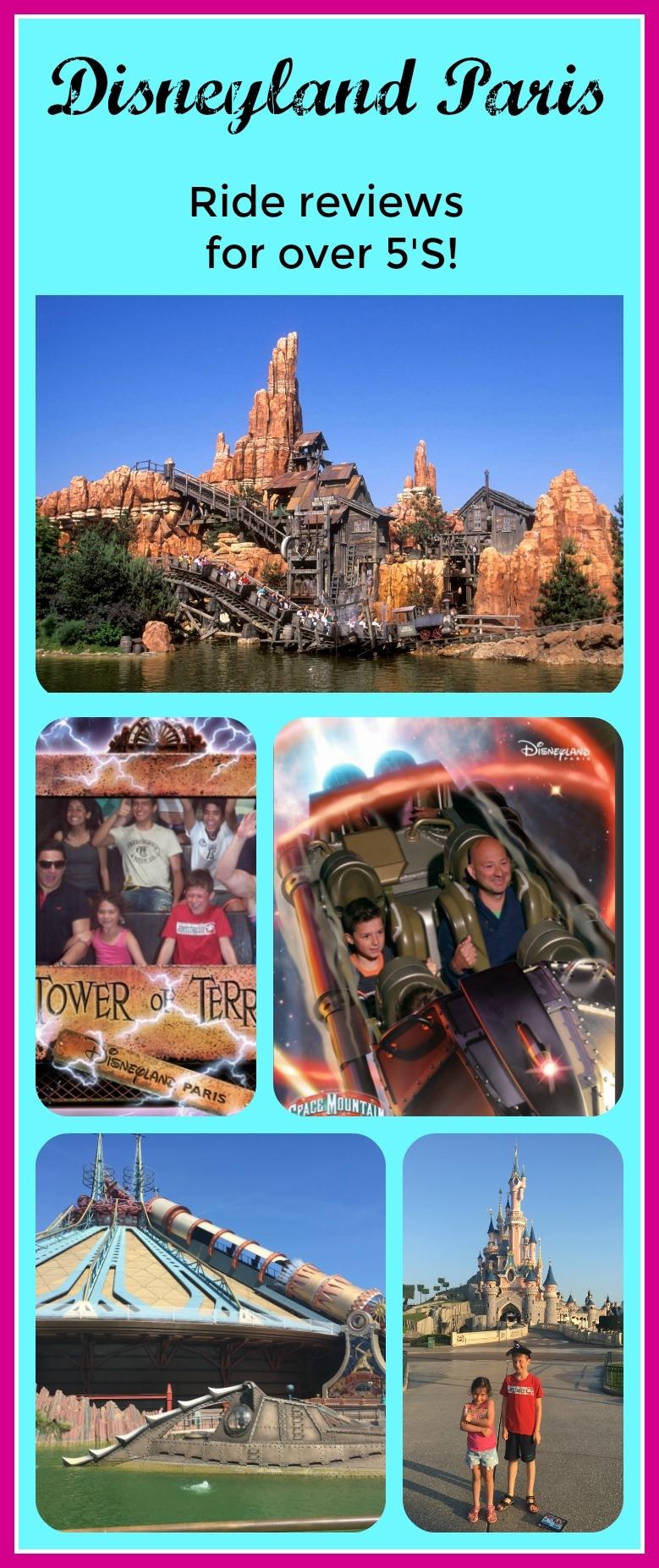 Disneyland Paris Ride Review